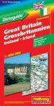 Nagy-Britannia és Írország autótérkép - Hallwag