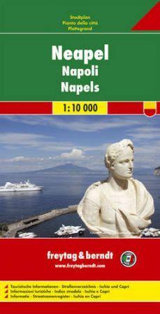 Naples, city map - Freytag-Berndt