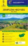 Zempléni-hegység (dél) turistatérkép - Cartographia