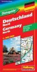 Észak-Németország autótérkép - Hallwag