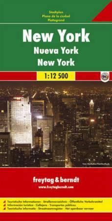 New York várostérkép - Freytag-Berndt