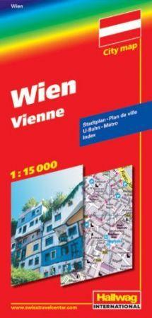 Bécs térkép - Hallwag