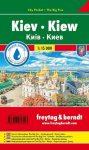 Kiev, city plan - Freytag-Berndt