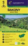 Bakony (North), hiking map - Cartographia
