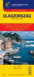 Olaszország autótérkép - Cartographia