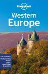 Nyugat-Európa, angol nyelvű útikönyv - Lonely Planet