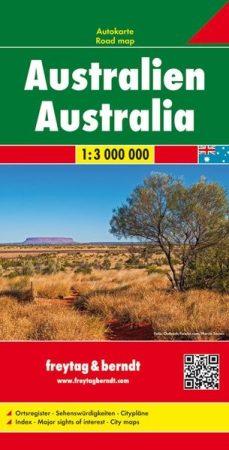 Ausztrália autótérkép - Freytag-Berndt