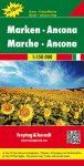 Marche & Ancona autótérkép - Freytag-Berndt Top 10 Tips
