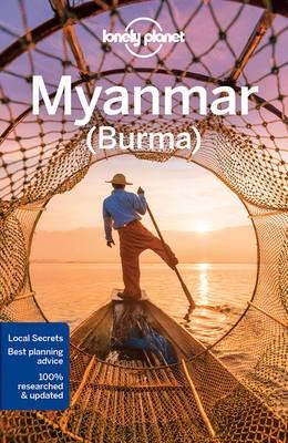 Mianmar, angol nyelvű útikönyv - Lonely Planet