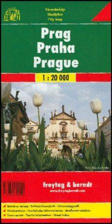 Prague, city plan - Freytag-Berndt