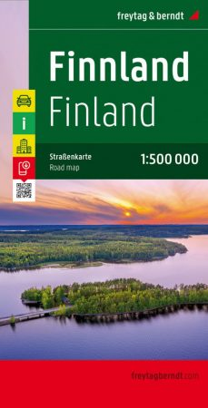 Finland, road map - Freytag-Berndt