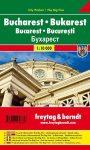 Bukarest várostérkép - Freytag-Berndt
