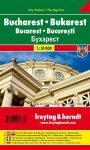 Bucharest, city map - Freytag-Berndt