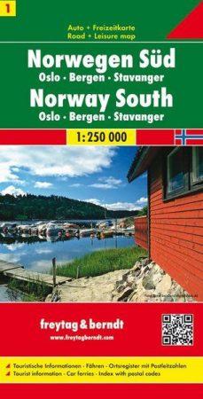 Norvégia (1) autótérkép - Freytag-Berndt