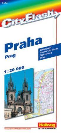 Prága City Flash - Hallwag