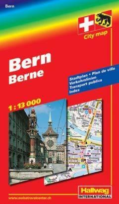 Bern térkép - Hallwag
