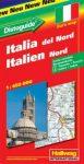 Észak-Itália autótérkép - Hallwag