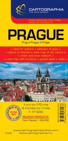Prága várostérkép - Cartographia