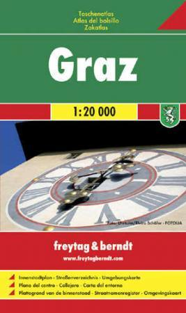 Graz zsebatlasz - Freytag-Berndt