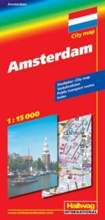 Amszterdam térkép - Hallwag