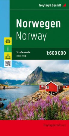 Norvégia autótérkép - Freytag-Berndt