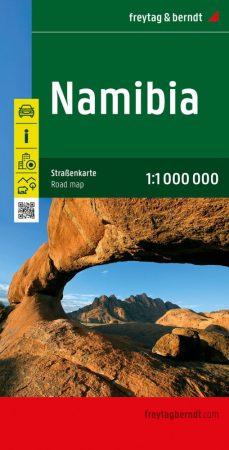 Namíbia autótérkép - Freytag-Berndt