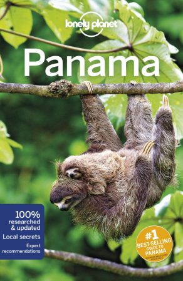 Panama, angol nyelvű útikönyv - Lonely Planet