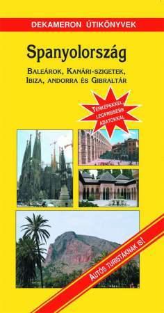 Spanyolország, magyar nyelvű útikönyv - Sárga könyvek