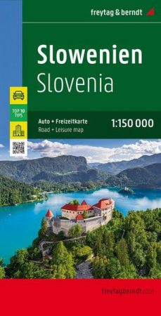Szlovénia Top 10 Tipp autótérkép - Freytag-Berndt