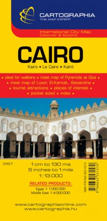 Kairó várostérkép - Cartographia