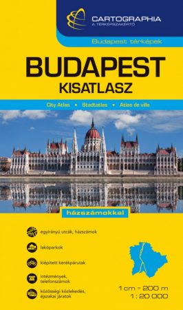 Budapest kisatlasz - Cartographia
