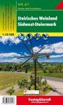 Stájer borvidék, Délnyugat-Stájerország turistatérkép (WK 411) - Freytag-Berndt