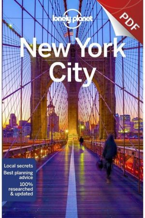 New York City, guidebook in English - Lonely Planet