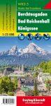 Berchtesgaden, Bad Reichenhall & Königssee, hiking map (WKD 5) - Freytag-Berndt