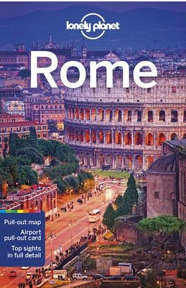 Rome, guidebook in English - Lonely Planet