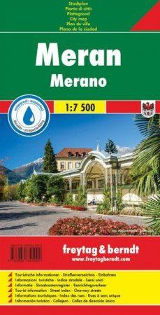 Merano várostérkép - Freytag-Berndt