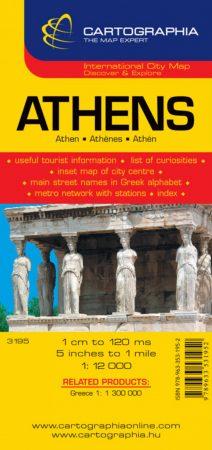 Athén várostérkép - Cartographia