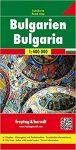 Bulgaria, travel map - Freytag-Berndt