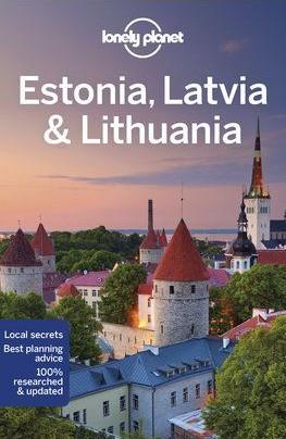 Észtország, Lettország & Litvánia, angol nyelvű útikönyv - Lonely Planet
