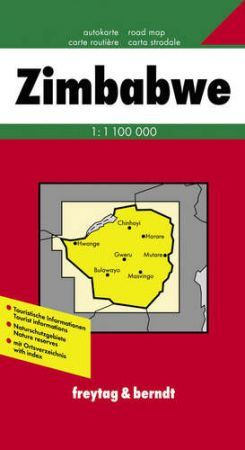 Zimbabwe autótérkép - Freytag-Berndt
