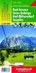 Bad Aussee, Totes Gebirge, Bad Mitterndorf, Tauplitz turistatérkép (WK 082) - Freytag-Berndt