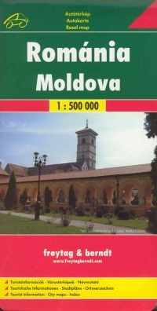 Románia és Moldova autótérkép (1:500000) - Freytag-Berndt