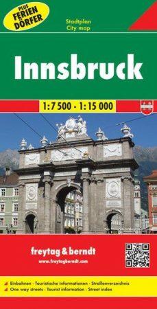Innsbruck teljes várostérkép - Freytag-Berndt