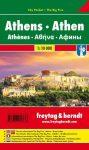 Athens, city map - Freytag-Berndt