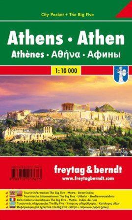 Athén várostérkép - Freytag-Berndt