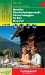 Montafon, Silvretta Hochalpenstraße, Schruns-Tschagguns, Piz Buin, Klostertal turistatérkép (WK 374) - Freytag-Berndt