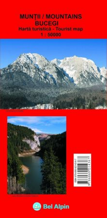 Bucsecs turistatérkép - Bel Alpin