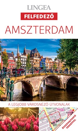 Amsterdam, guidebook in Hungarian - Lingea