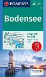 Bodensee turistatérkép (WK 11) - Kompass