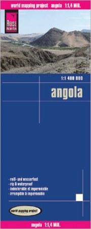 Angola térkép - Reise Know-How